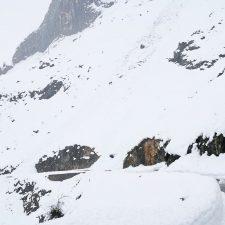 El Parque Nacional alerta de riesgo muy alto de aludes en los Picos de Europa