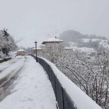 Establecido un nivel 3 de pre-emergencia por nevadas a 800m en el Principado de Asturias