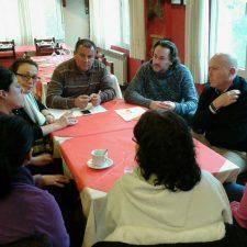 Apoyo de Ciudadanos a la Plataforma de Familias que reclaman mas pediatras en el oriente de Asturias