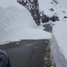 Activado el riesgo de aludes en los Picos de Europa hasta el sábado