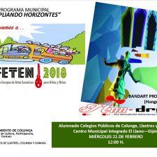 84 escolares de Colunga, Lastres y Caravia viajarán el miércoles a FETEN