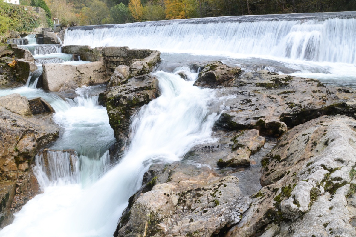 A información pública el proyecto de mejora en la escala salmonera de Caño, en el río Sella