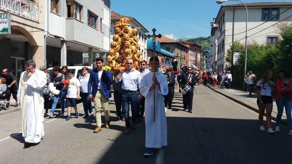 Arriondas cancela las fiestas en honor a su patrona Santa Rita