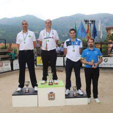 Benito Fernández logra su 12+1 título regional de Bolo Palma en Panes