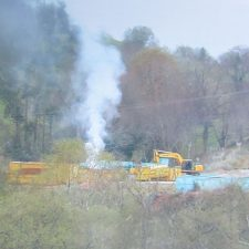 La Coordinadora Ecologista pide la paralización industrial en la planta de residuos siderúrgicos de El Peral ante el incremento de la actividad