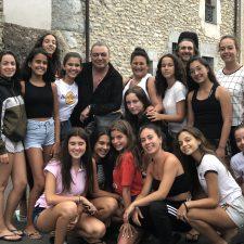 Antonio Canales ya se encuentra en Colombres como maestro del II Encuentro de Danza