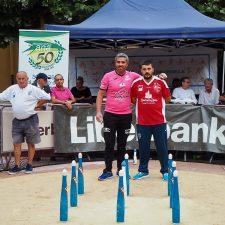 Javier Pruneda gana el Torneo de Bolos en la Calle de Ribadesella-Memorial El Xatu