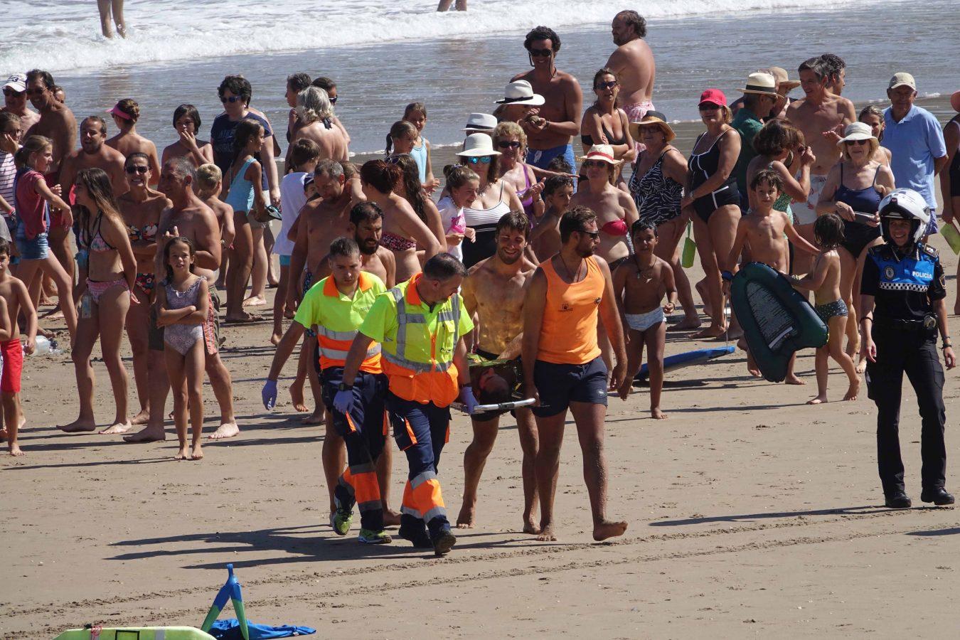 Las playas de Ribadesella aumentaron a 107.000 el número de usuarios durante el último verano
