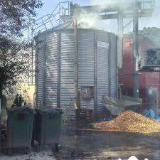 Extinguido un incendió en una nave agrícola de Bricia (Llanes)