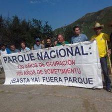 Los pastores aprovechan la visita Real para manifestarse contra el Parque Nacional