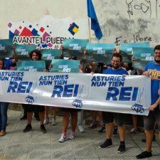 Convocan una marcha contra la Monarquía para el sábado entre Arriondas y Cangas de Onís