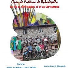 El Taller de Pintura de Torre expone en la Casa de Cultura de Ribadesella a partir del sábado