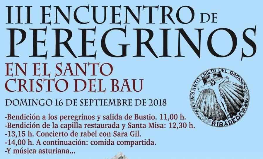 El domingo regresa a Ribadedeva el Encuentro de Peregrinos en el Santo Cristo del Bau