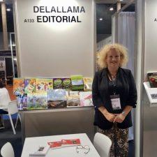 Delallama, la editorial de Ribadesella, acude por primera vez a la Feria del Libro de Barcelona
