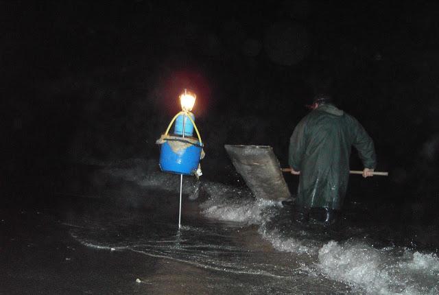 A las seis de la tarde de mañana jueves comienza la temporada de la angula en las rías de Ribadesella y Tinamayor