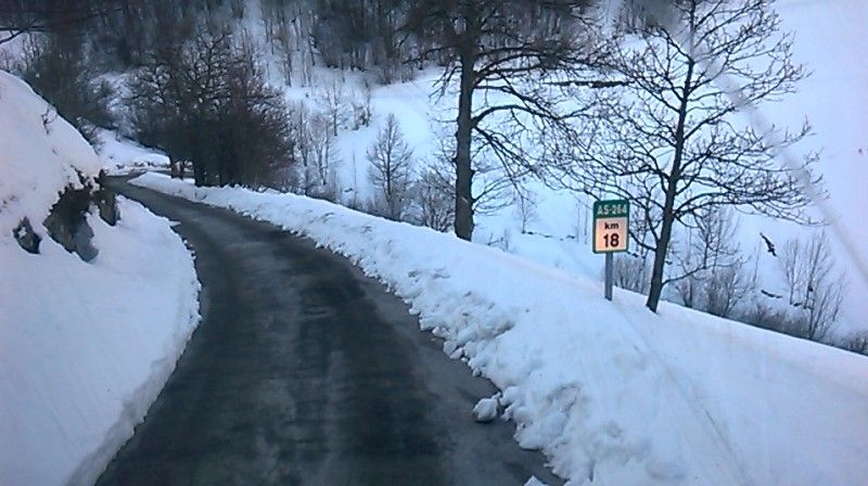Aprobados 409.000€ para mejorar el tramo Sotres-Cantabria de la carretera AS-264