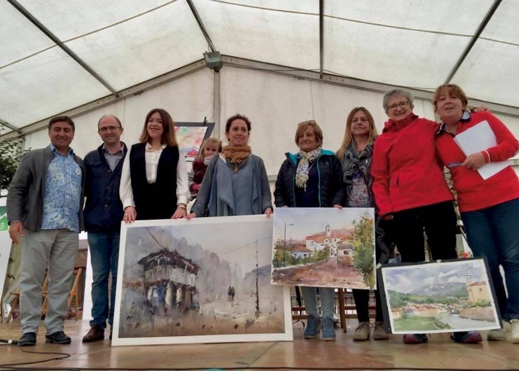 Txon Pomés gana el Concurso de Acuarelistas de Cangas de Onís