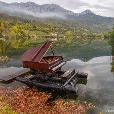 El nuevo espectáculo de La Xata, Le Piano du Lac, llega este sábado a Ribadesella