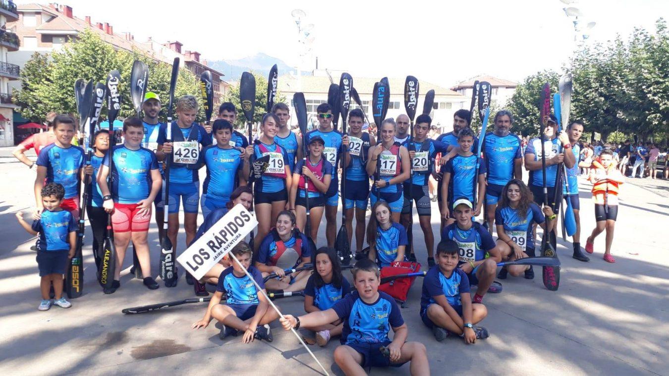 Los Rápidos de Arriondas ganan la Liga Asturiana de Ríos 2018