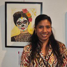 México muestra sus colores en Ribadesella de manos de la Asociación Plástica Celayense