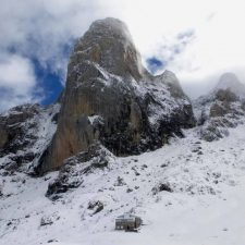 Nueva alerta por riesgo de aludes en los Picos de Europa