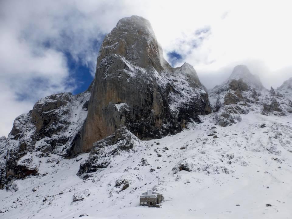 La AEMet alerta sobre el peligro de aludes en los Picos de Europa hasta el martes