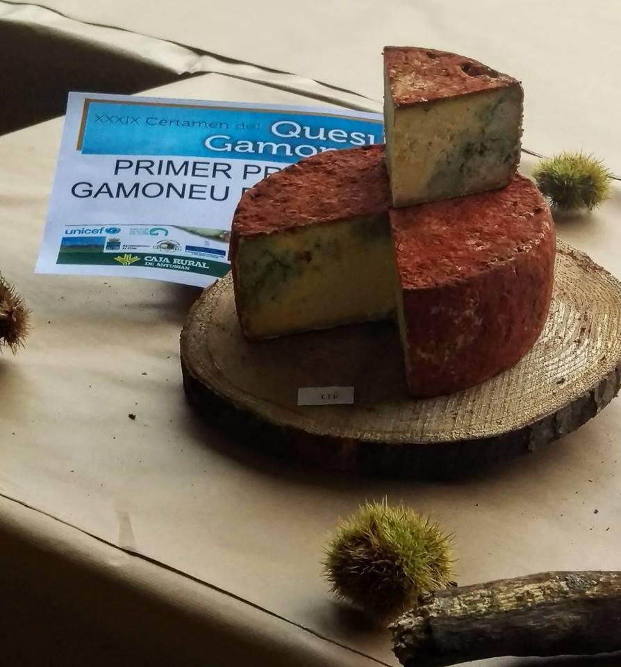 Los dos mejores quesos Gamoneu del año se subastan en 4.000€