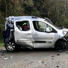 Podemos pide un plan para reducir los accidentes de tráfico en la N-634