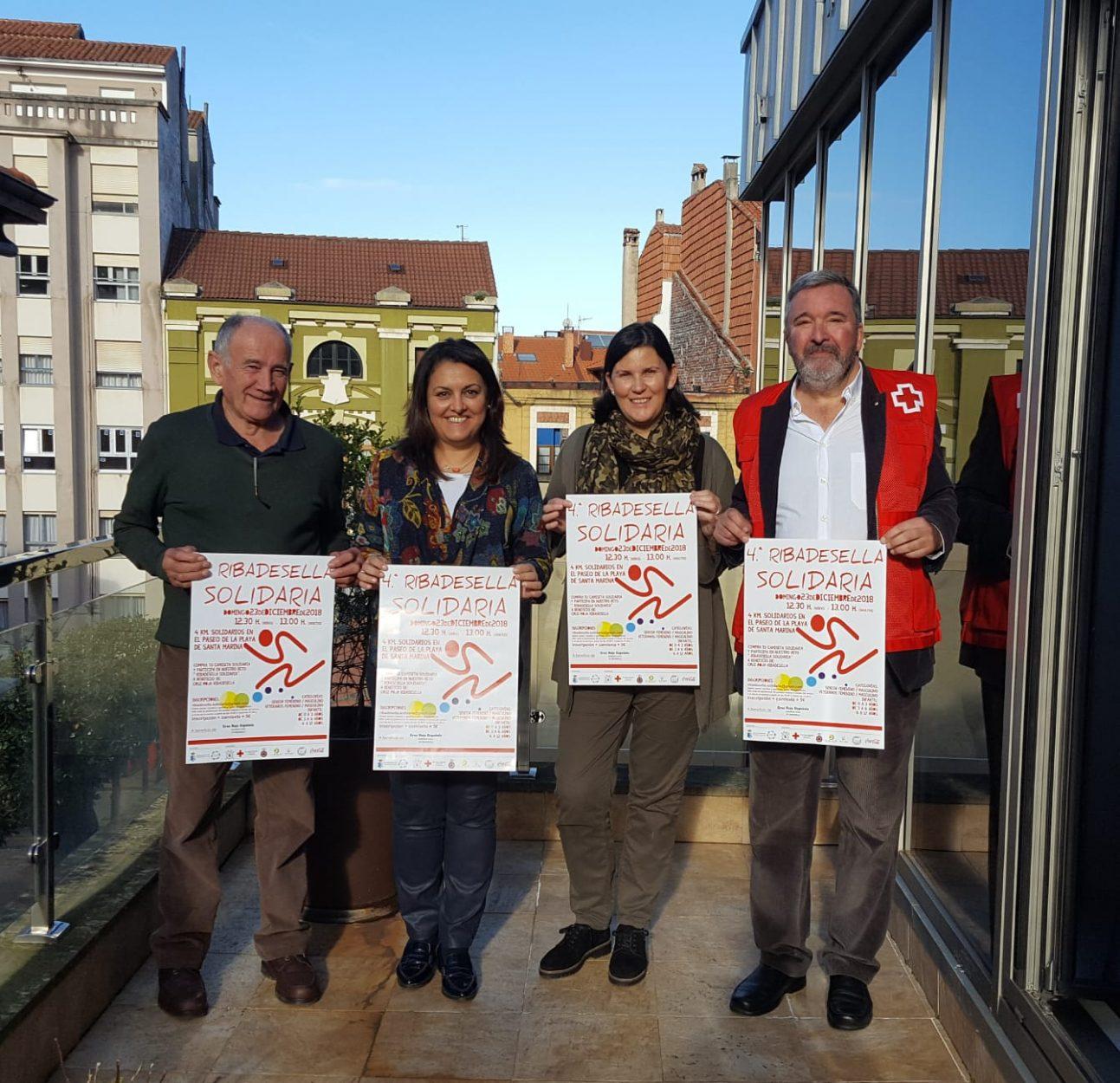 La 4ª Carrera Ribadesella Solidaria, el 23 de diciembre a favor de Cruz Roja