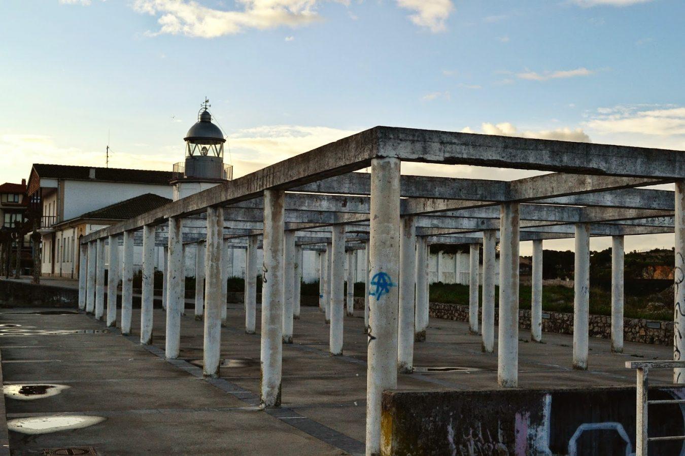 Llanes inicia la restauración del Tendederu de redes ubicado en la Punta de San Antón