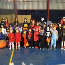 Benia de Onís también celebra su Fiesta Halloween