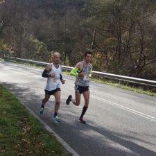 Javie Mier y Sonia Suero ganan para Ribadesella la Media Maratón de Trubia