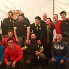 Los Zancañeros también ganan el Concurso de Tiro de Cuerda disputado en Llames de Pría