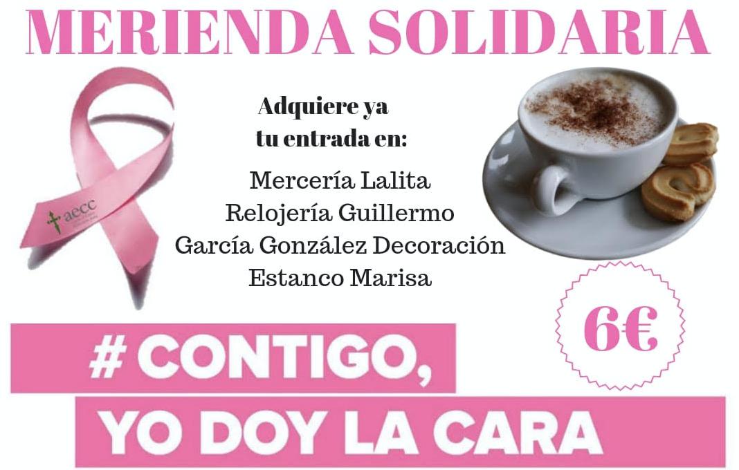 Ribadesella se une contra el cáncer de mama en su tercera merienda solidaria