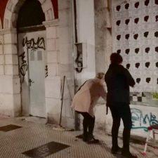 El oriente de Asturias amanece empapelado contra la violencia machista