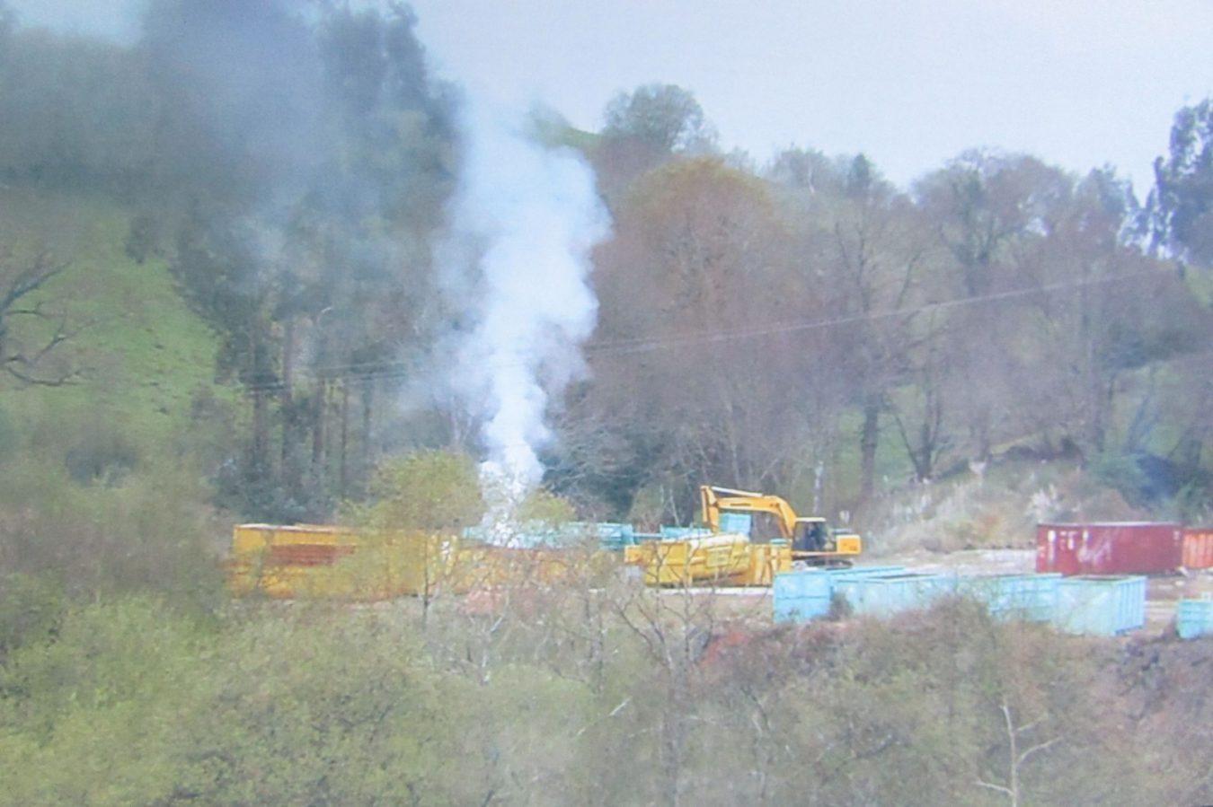 El Principado exige la inmediata paralización de la planta de residuos metalúrgicos del Peral (Ribadedeva)