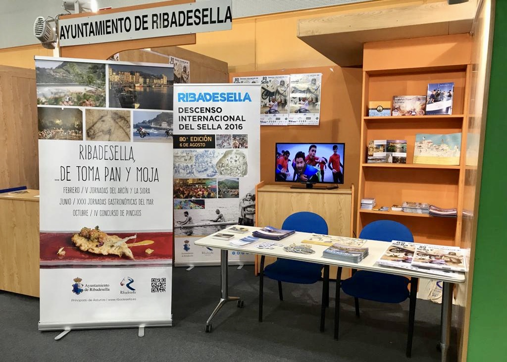 Ribadesella se promociona esta semana en Spotur Galicia, el Salón del Deporte y Turismo Activo