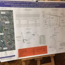 La instalación de las viseras antialudes en la carretera de Sotres aún no ha comenzado