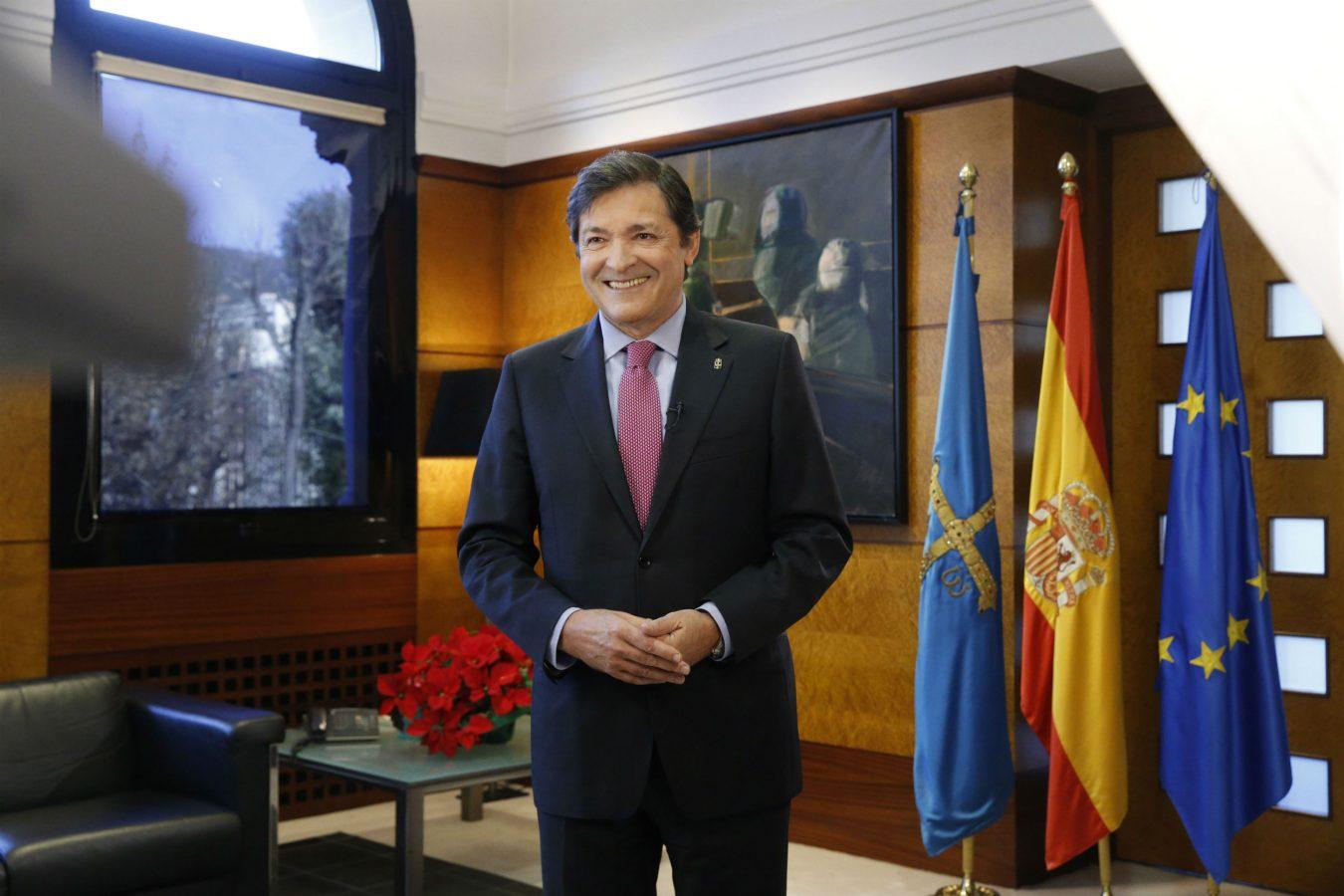 Mensaje de Fin de Año del Presidente del Principado de Asturias. El último de Javier Fernández