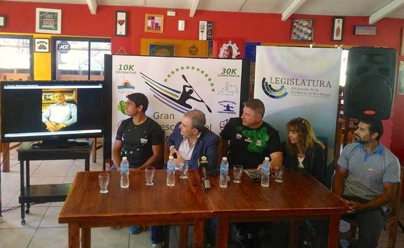 Argentina acoge una nueva prueba piragüística con el río Sella como premio