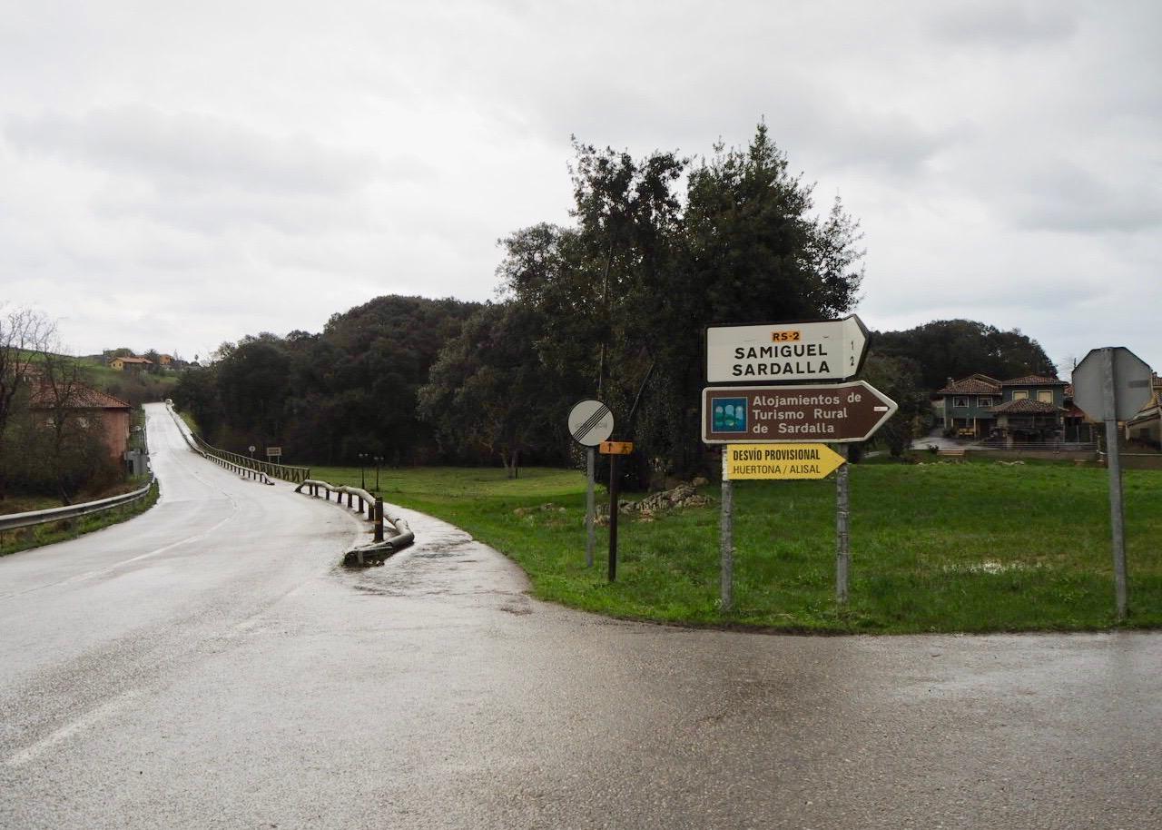250.000€ para renovar la señalización vertical en las carreteras del oriente de Asturias