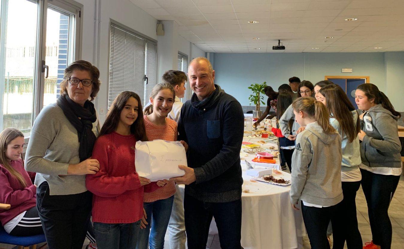 Eduardo Llano Rumayor gana el Concurso de Postres Franceses del Instituto de Llanes