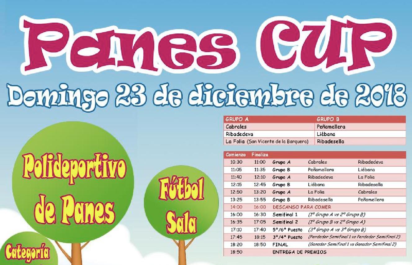El equipo benjamín del Ribadesella CF jugará la 1ª Panes Cup