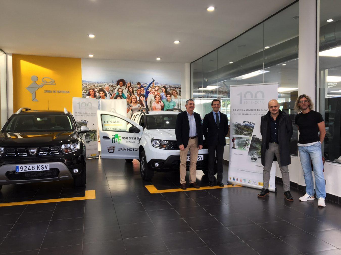 El Parque Nacional de los Picos de Europa recibe dos nuevos vehículos para su trabajo diario