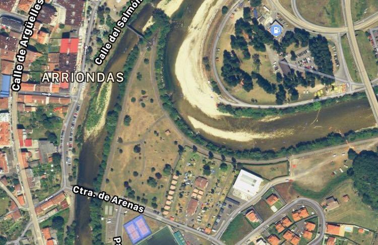el Area de Autocaravanas de Arriondas se ubicará en el Parque de La Concordia con ocho plazas