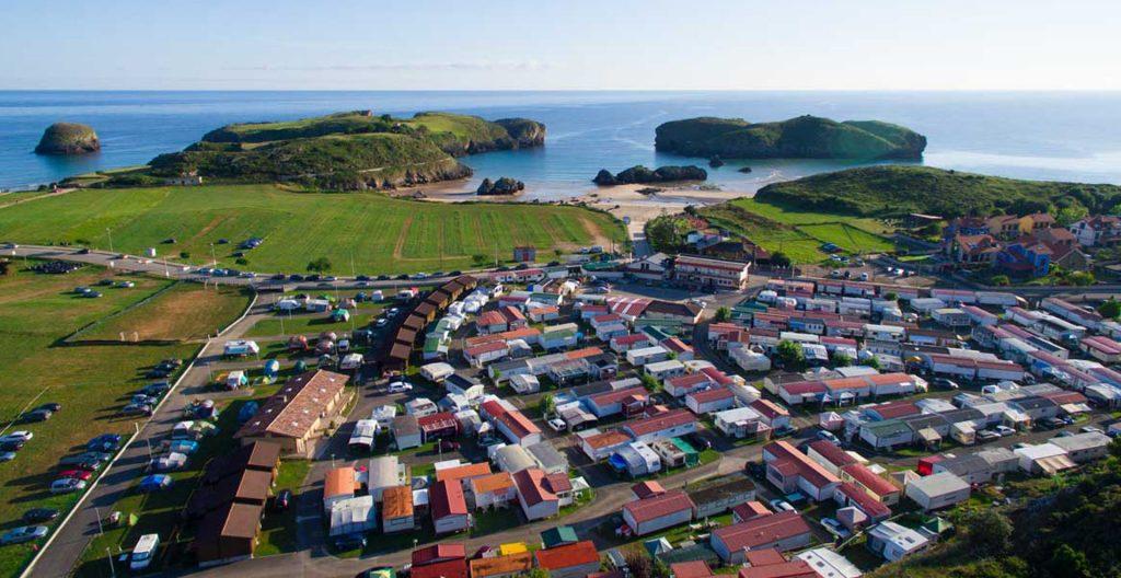 El nuevo Plan General de Llanes califica como suelo NO Urbanizable de Costas la ampliación del camping de Celorio