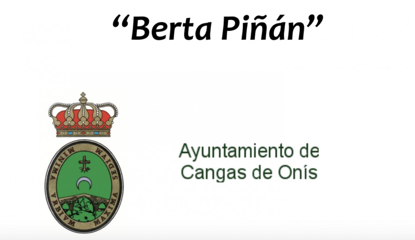 Una escritora gallega gana el XXI Concurso de Cuentos Berta Piñán de Cangas de Onís