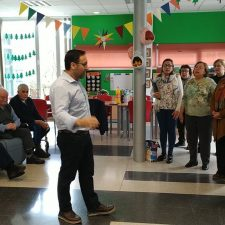 Concierto de Año Nuevo en Benia de Onís para los usuarios del Centro de Día