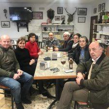 Carmen Moriyón visita los concejos de Llanes y Peñamellera Baja