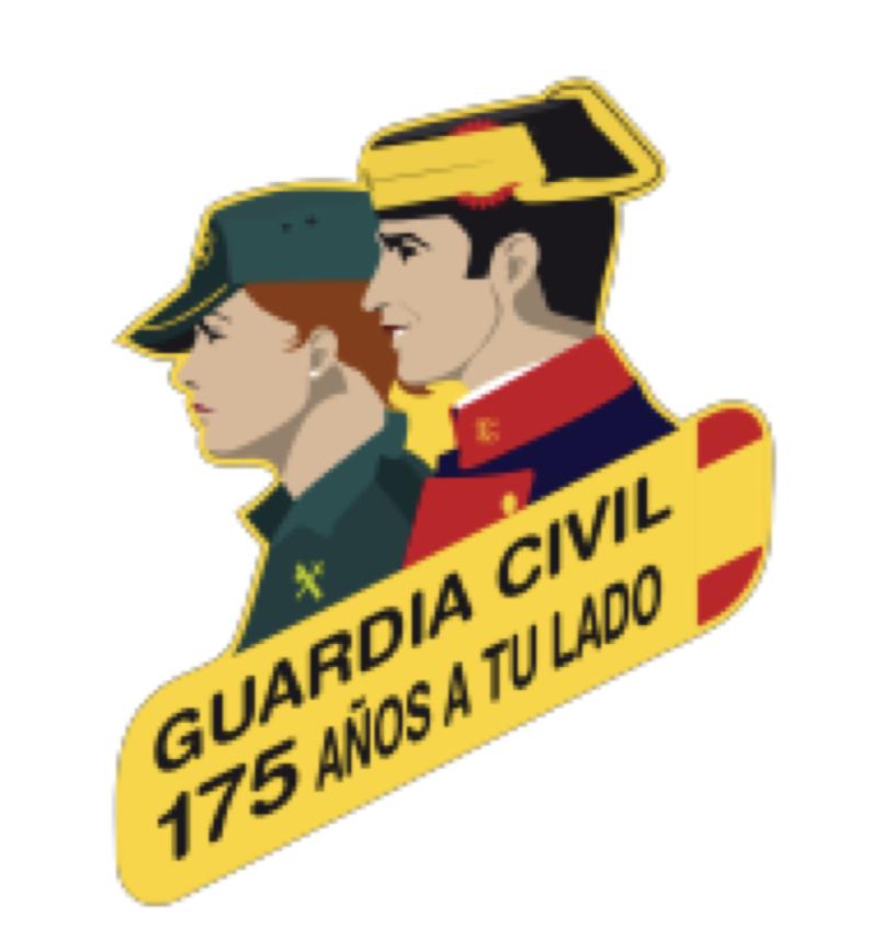 Exhibición de la Guardia Civil en el CP L'Ablanu de Infiesto para el lunes